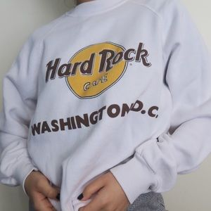 HARD ROCK CAFE  washington dc crewneck